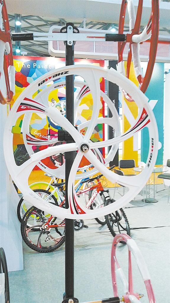自行车零部件 领跑胜山工业
