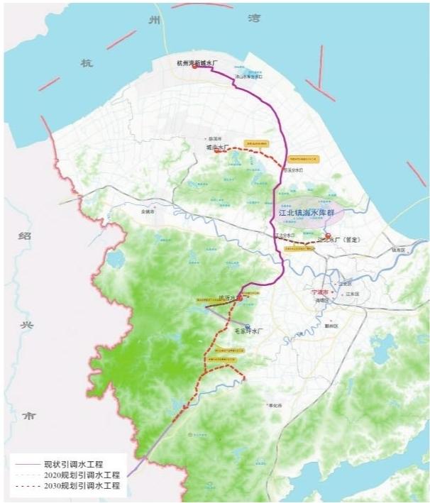 关键词:宁波引水工程