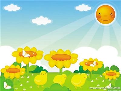 春雨的颜色幼儿