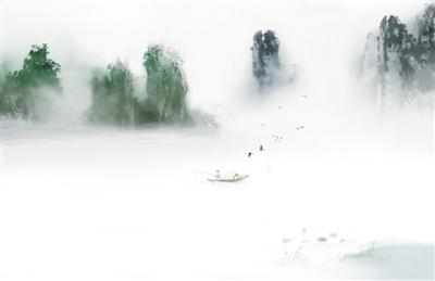 下载杭州西溯风景图片